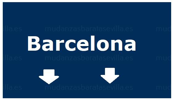 Mudanzas Sevilla Barcelona