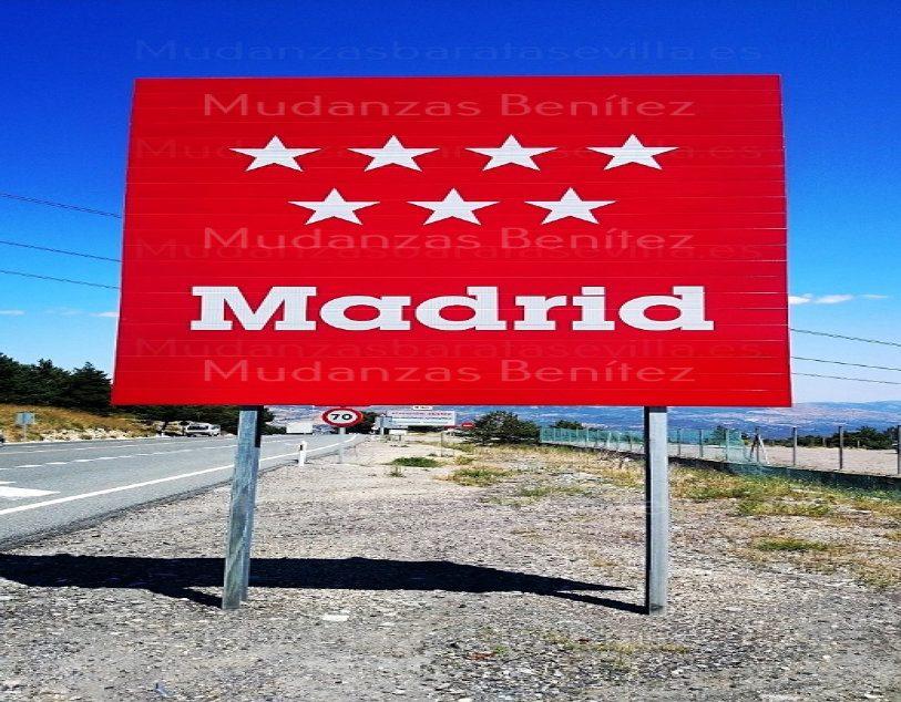 Mudanzas Sevilla Madrid
