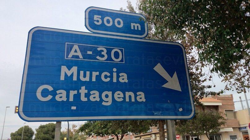 Mudanzas Sevilla Murcia