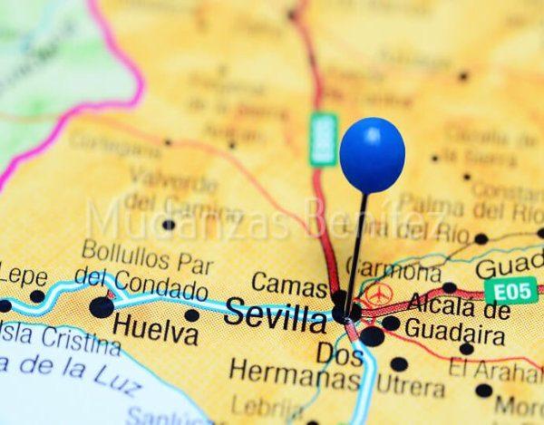 Mudanzas locales en Sevilla